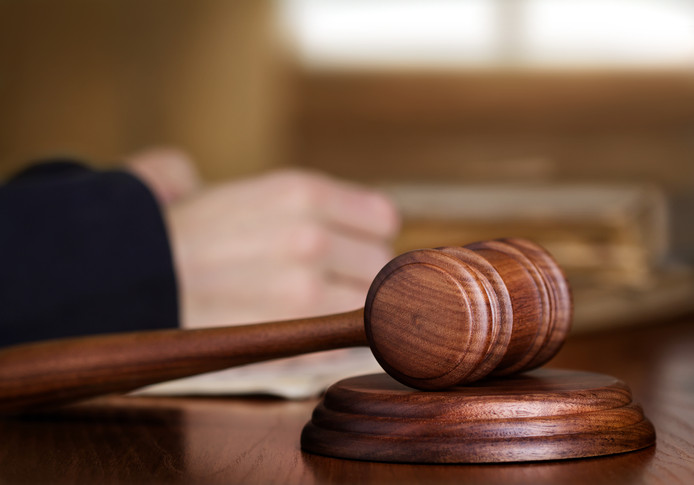 Rechter Rechtszaal Rechtbank Hamer