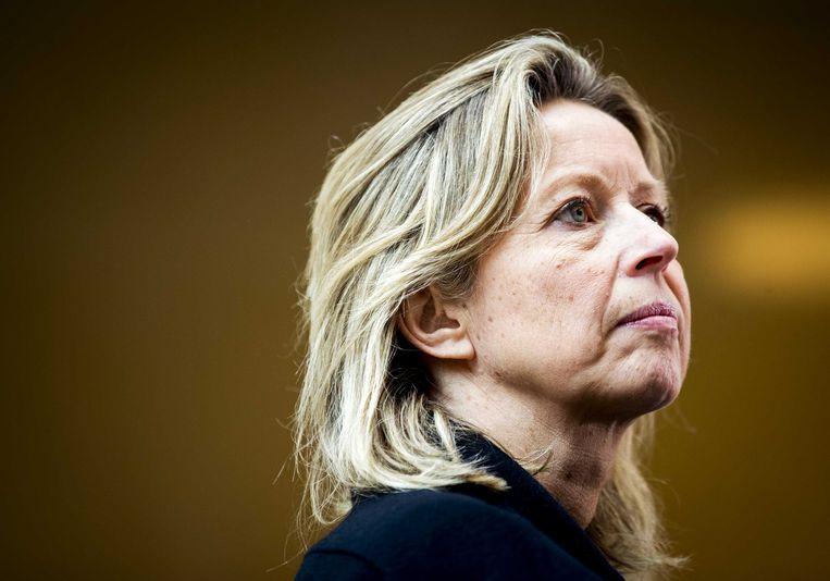 Minister Kajsa Ollongren van Binnenlandse Zaken Beeld null
