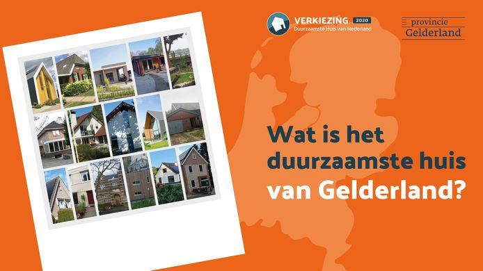 Verkiezing duurzaamste huis van Gelderland.