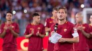 """AS Roma-legende Totti zet geen voet meer binnen op de club en gaat zelfs niet naar zoon kijken: """"Ik zou wel kunnen janken"""""""