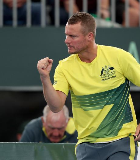 Hewitts 'come on!' inspireerde tennisser Van Hoeve
