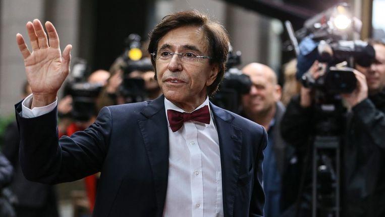 De Belgische premier Elio di Rupo. Beeld epa