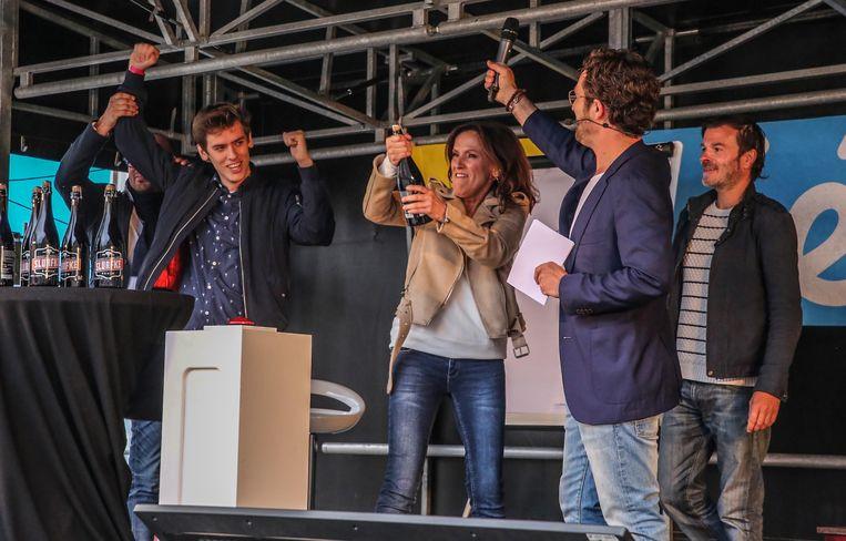Kadèr Gürbüz, Christophe Haddad en Geert Hunaerts.