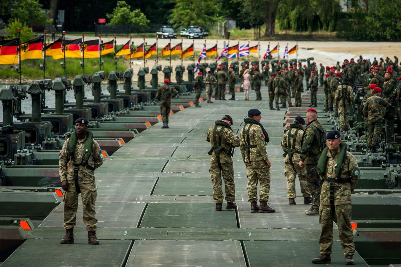 NAVO-oefening gisteren in Polen.