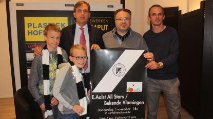 Eendracht Aalst All Stars spelen benefietmatch tegen BV's