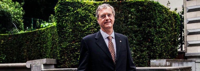 Thomas Antoine: 'De Benelux is nog steeds de voortrekker van de Europese eenwording'. Beeld Aurélie Geurts.