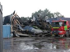Gemeente Nunspeet moet wachten met afvoeren restanten verwoestende brand Nunspeet