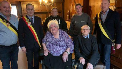 Etienne en Georgette uit Bassevelde vieren zestig jaar huwelijksgeluk