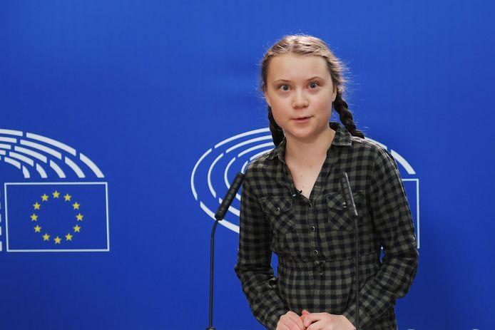 De Zweedse klimaatactiviste Greta Thunberg