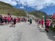 Live: Klaar voor de start, af! Team Westland start met klim Tourmalet