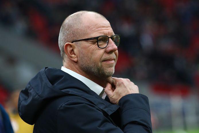 Fred Grim blijft ook na dit seizoen trainer van RKC Waalwijk.