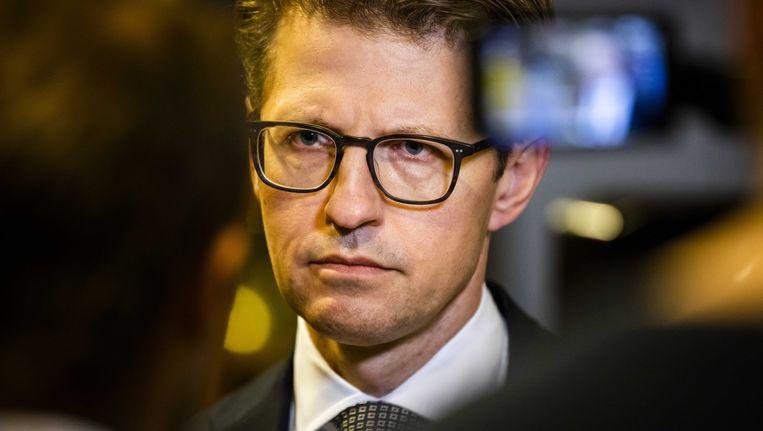 Minister Sander Dekker Beeld ANP