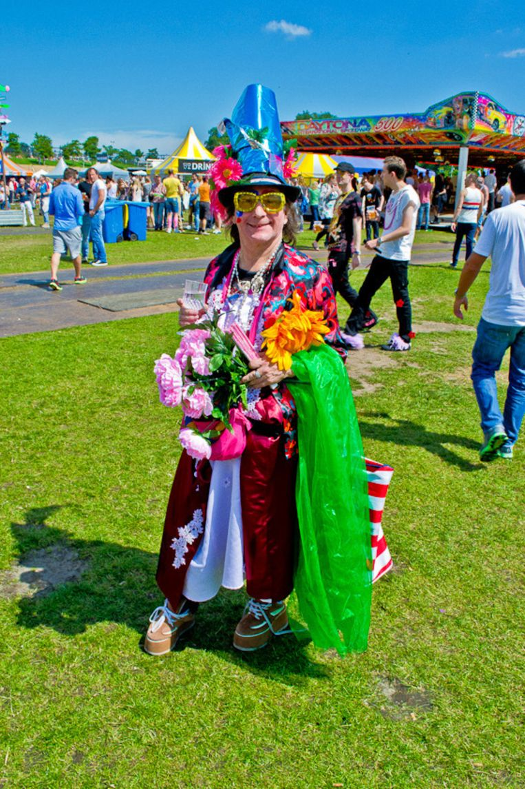 Fabiola in de zomer van 2012 op het festival Milkshake. Beeld Dennis van Vreden