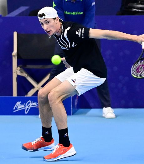Le Français Ugo Humbert se qualifie pour les demi-finales de l'European Open