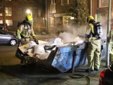 Brandstichters ook weer actief in de wijk Tanthof