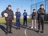 Zakaria, Liam, Soufian, Andi en Owen zijn 'grote helden van de kleine velden'
