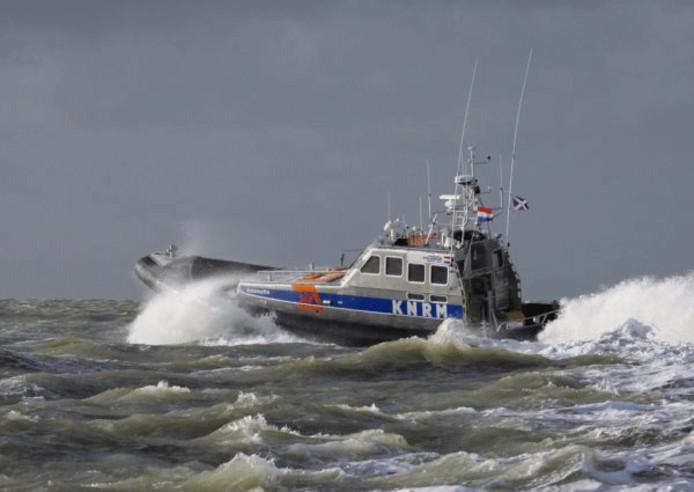 Reddingboot Antoinette van KNRM Stellendam/Ouddorp. archieffoto Timco Houkema