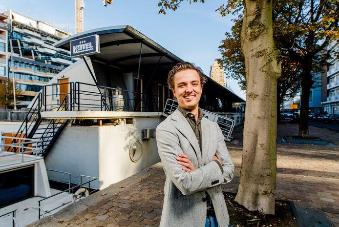 Jan Willem Janssen, eigenaar H2OTEL in Rotterdam.