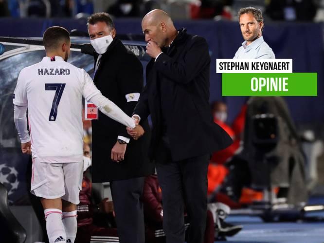"""""""Zidane heeft persoonlijkheid nodig in Milaan. Macho's die weten wat winnen is. Hallo Hazard?"""""""