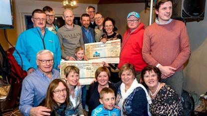 Supporters Klaas Vantornout steunen goede doelen