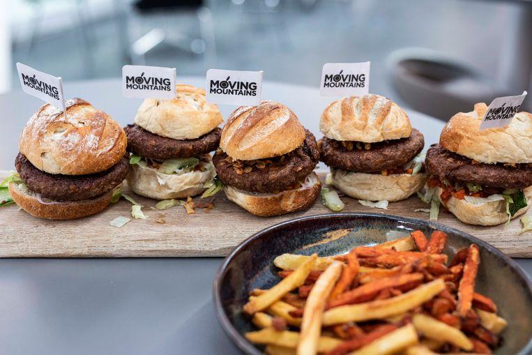 Vegan hamburgers op PXL.