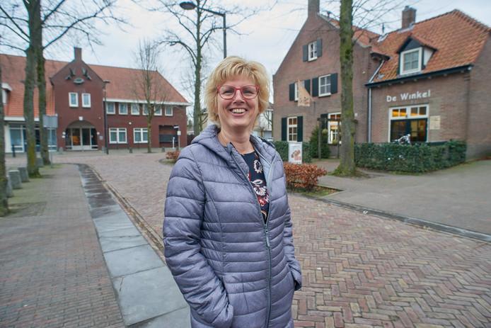 Het dorp van Hermine Donkers. Foto bij de Horst en De Winkel, waar zij actief is.