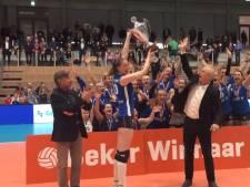 Sliedrecht Sport heeft 'triple' compleet
