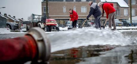 Doei sneeuw, hallo Ewijks ijs