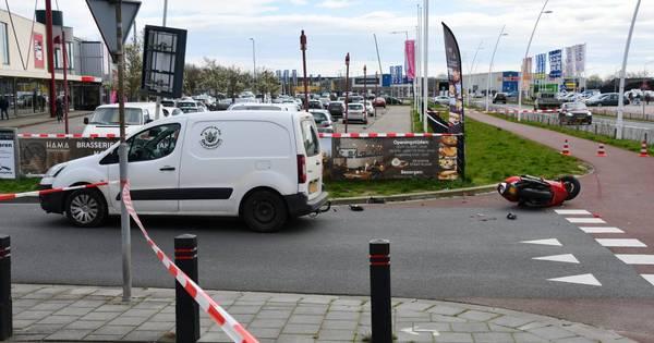 Zwaargewonde bij ongeluk in Terneuzen.