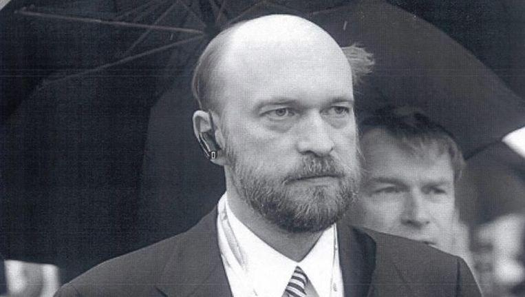 Interpol verspreidde in 2014 deze ongedateerde foto van Sergej Poegatsjov. De Russische autoriteiten verdenken hem van verduistering. Beeld epa