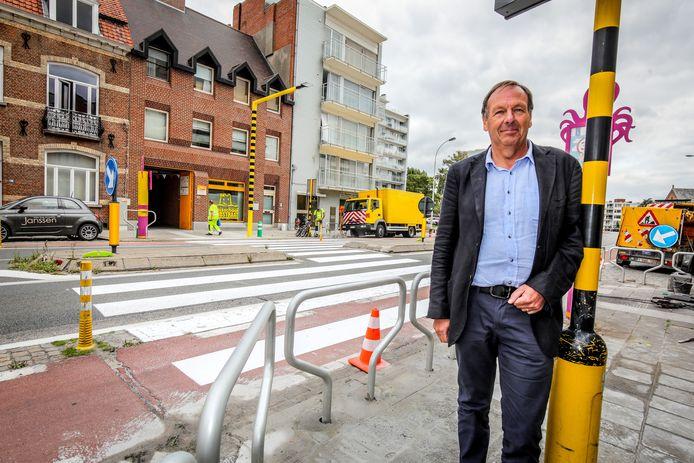 Dries De Rycke, directeur van het Sint-Lodewijkscollege, afdeling Zandstraat en Lenteweelde.
