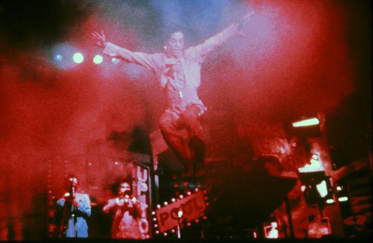 Still uit de concertfilm van Prince Beeld Kew Media Group