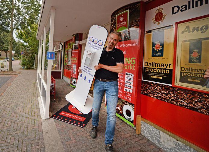 De supermarkt in Noord Deurningen die vorige week op last van de veiligheidsregio Twente moest sluiten is weer open.