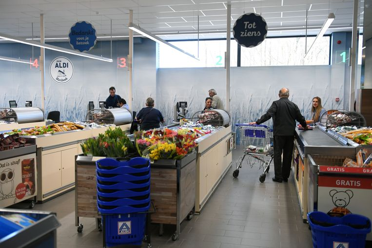 Opening nieuwe Aldi in Bierbeek