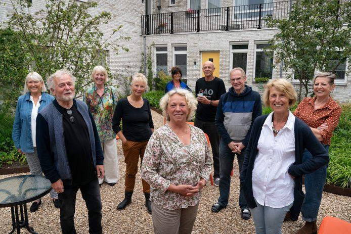 Woongemeenschap de Oosterburen op het voormalige voetbalterrein van Fc Den Bosch.