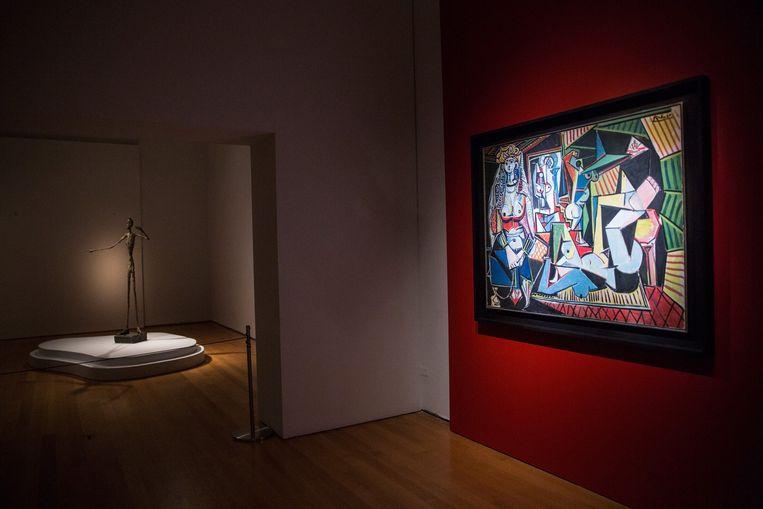 Picasso's 'Femmes d'Alger'.