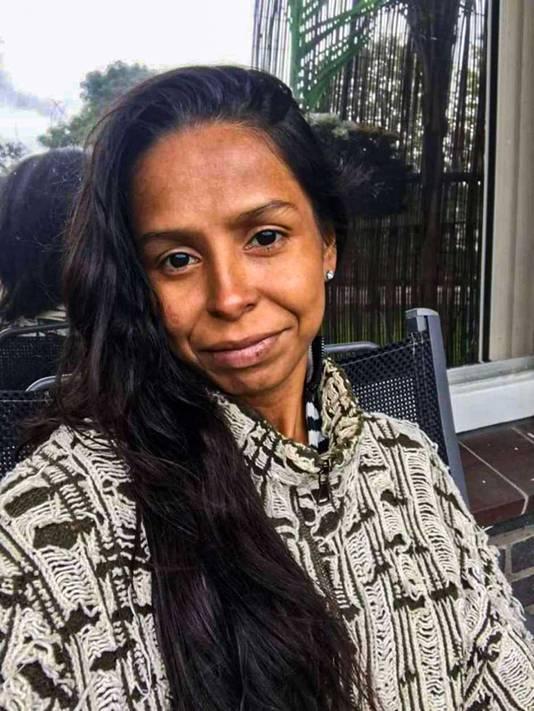 Portret van Patricia Dos Santos. Dennis van E. wordt ervan verdacht haar te hebben vemoord in DIemen.