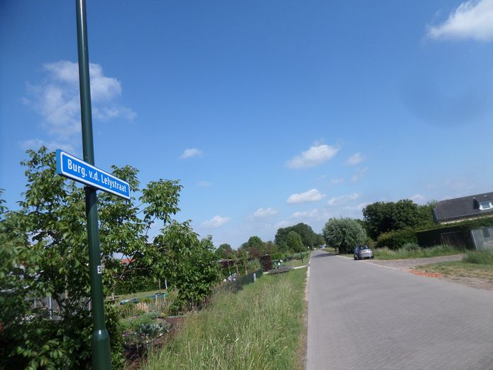 In Woudrichem is een straat naar burgemeester Van der Lely genoemd.