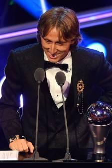 Modric stoot Ronaldo van troon als beste voetballer ter wereld