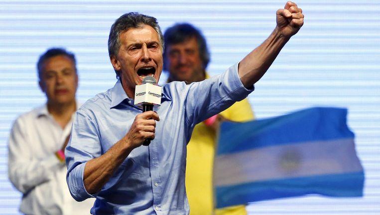 Mauricio Macri. Beeld reuters
