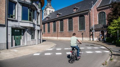 """Fietsersbond vraagt meer fietsveiligheid in Sint-Ursmarusstraat: """"Fietsers rijden onbeschermd door belangrijke straat"""""""