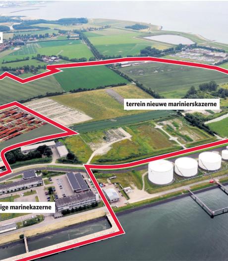 Miljoenen compensatie voor bouwers marinierskazerne Vlissingen