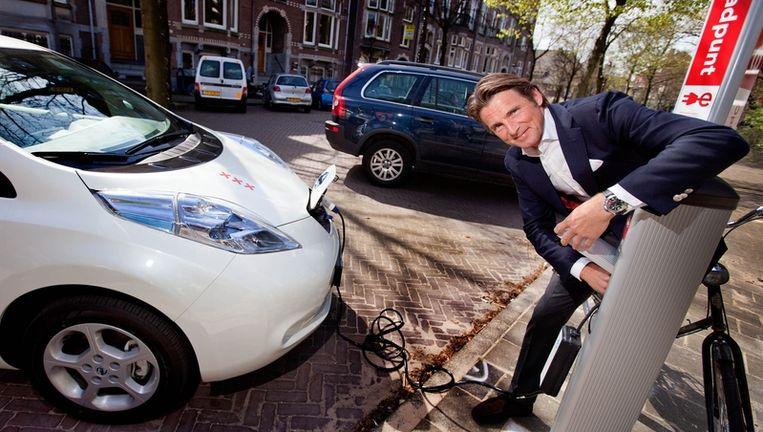 Elektrische Auto Laden Zonder Snoer De Volkskrant