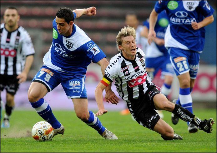 Eupen en Charleroi beleefden in 2010/2011 een rotseizoen: beide clubs speelden PO3 en degradeerden uit de eerste klasse.