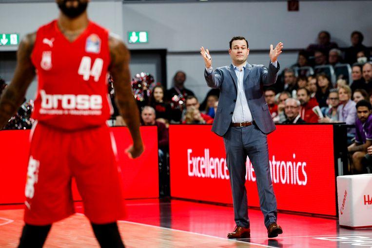 Johan Roijakkers: 'Basketbal in Nederland is liefdewerk oud papier. Als je van deze sport wilt leven, moet je in het buitenland zijn.' Beeld Daniel Löb
