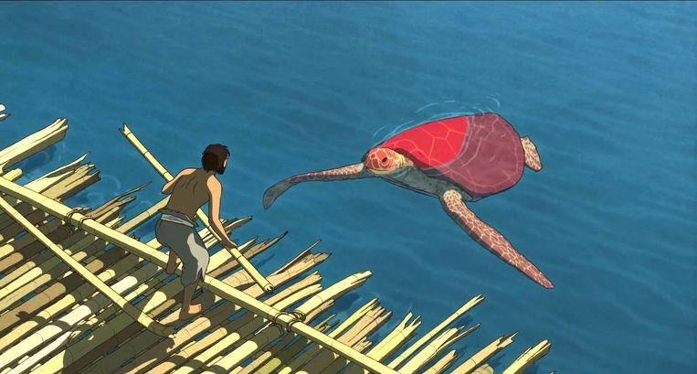 The Red Turtle. Beeld Filmbeeld