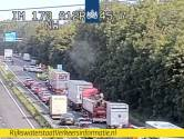 Verkeer in Zevenaar en Babberich vast als gevolg van ongeval A12