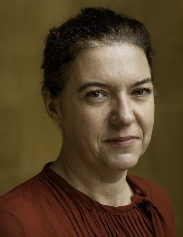 Valerie Trouet: 'Zonder goed leiderschap zullen we nergens raken.' Beeld