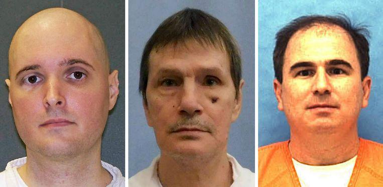 Thomas Bartlett Whitaker (Texas), Doyle Lee Hamm (Alabama) en Eric Scott Branch (Florida).