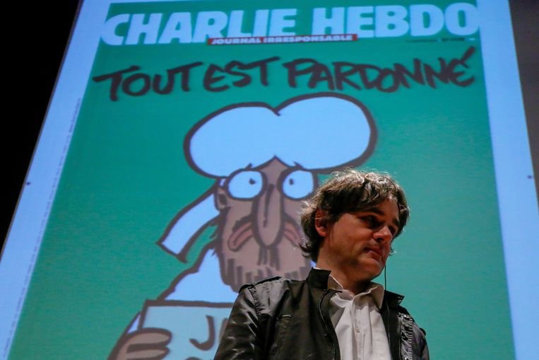 Laurent Sourisseau 'Riss', directeur van Charlie Hebdo